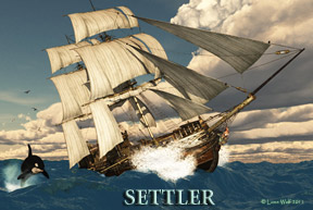 Settler By Roy E Christopherson